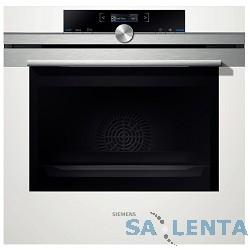Духовой шкаф Электрический Siemens HB634GBW1 белый/серебристый