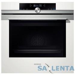 Духовой шкаф Электрический Siemens HB633GNW1 белый/серебристый