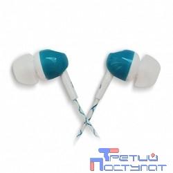 CBR Human Friends Lumen Blue-White {динамик 10 мм, 32 Ом, провод 120 мм, разъем 3,5 мм}