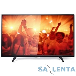 Philips 43″ 43PFT4001/60 черный {FULL HD/200Hz/DVB-T/DVB-T2/DVB-C/USB (RUS)}
