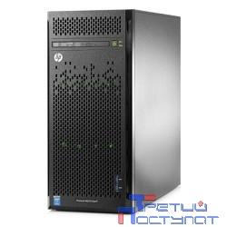 Сервер HP ProLiant ML110 Gen9 E5-2603v4 6C 1.7GHz, 1x8GB-R DDR4-2400T, B140i/ZM (RAID 1+0/5/5+0) noHDD (4 LFF 3.5'' NHP) 1x350W NHP NonRPS (up2x750W Gold), 2x1Gb/s,noDVD,iLO4.2, Tower-5U (838502-421)