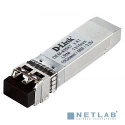 D-Link DEM-435XT/C1A SFP-трансивер с 1 портом 10GBase-LRM для многомодового оптического кабеля (до 200 м)