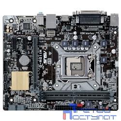 ASUS H110M-D  RTL Материнская плата { Soc-1151 Intel H110 2xDDR4 mATX AC`97 8ch(7.1) GbLAN+VGA+HDMI}
