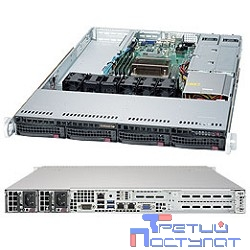 Supermicro Superserver SYS-5019S-WR, Single SKT, WIO, C236 chipset, 4 x DIMMs, 4 x 3.5