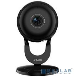 D-Link DCS-2630L/RU/A1A/A2A 2 МП беспроводная облачная сетевая Full HD-камера, день/ночь, с ИК-подсветкой до 5 м, углом обзора по горизонтали 180°, PIR-сенсором и слотом для карты microSD