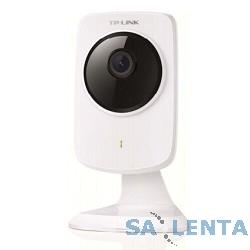 TP-Link NC210 Wi-Fi облачная HD-камера, 2,4 ГГц, 150 Мбит/с, 802.11b/g/n, кнопка WPS, прямоугольный дизайн, H.264 видео, 20 к/с при разрешении в 1280×720 (720 пикс), 1/4-дюймовый сенсор CMOS