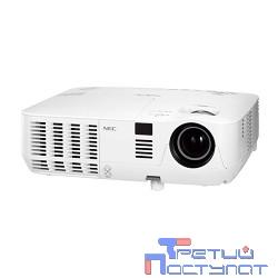 NEC NP-VE303 (VE303G) {3D Ready, DLP, 3000 ANSI lumen, SVGA, 10000:1, лампа 6000 ч.(Eco mode), RS232, Vitual Remote, 2Вт моно, 2.6 кг.}