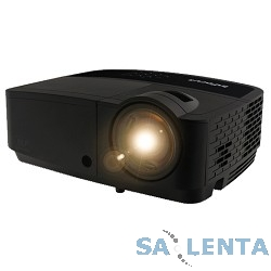 INFOCUS IN128HDSTx {(Full 3D), DLP, 3500 ANSI Lm, Full HD, 15000:1, короткофокусный 0,495:1,10W, HDMI 1.4,VGA x 2, S-Video, Composite,3.5mm Mini Jack input, RS232C, RJ45/LAN,USB Mini-B,3.5mm}