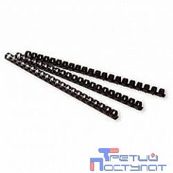 Fellowes Пружина пластиковая FS-53453 (6 мм, черный, 100 шт.)