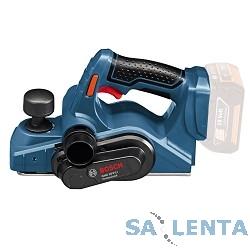 Bosch GHO 18 V-LI Рубанок.аккумуляторный [06015A0300] { 18 В, 14000 об/мин, 2,6кг, Без акк и ЗУ }