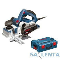 Bosch GHO 40 — 82 C Рубанок электрический [060159A76A] { 850 Вт, 14000 об/мин, 3,2 кг — L-boxx }