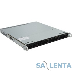 Supermicro SYS-5018R-M  (1U, 350W, LGA2011-R3, Intel®C612, 8xDDR4, 4xHDD 3.5″, 2xGbE, IPMI )