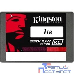 Kingston SSD 1TB KC400 Series SKC400S37/1T {SATA3.0}