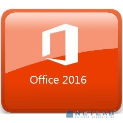 T5D-02705 Microsoft Office Home and Business 2016 Russian 32/64-bit Russia Only DVD No Skype P2