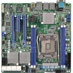 ASRock EPC612D4U-8R Intel C612, 1xLGA2011-3, 4xDDR4 DIMM, 2xPCI-E x16, SAS/SATA, встроенная графика, Ethernet: 2x1000 Мбит/с, форм-фактор mATX