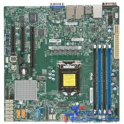 SuperMicro MBD-X11SSH-F-O (Soc-1151 iC236 mATX 4xDDR4 8xSATA3 SATA RAID i210AT 2хGgbEth) Ret