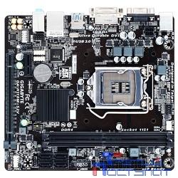 Gigabyte GA-H110M-S2V DDR4 RTL {Socket 1151, Intel®H110, 2xDDR4-2133, D-SUB+DVI-D, 1xPCI-Ex16, 1xPCI-Ex1, 4xSATA3, 8 Ch Audio, GLan, (2+4)xUSB2.0, (2+2)xUSB3.0, 2xPS/2, mATX}