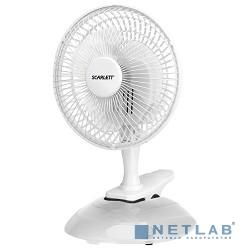 Вентилятор напольный Scarlett SC-DF111S01 25Вт скоростей:2 белый