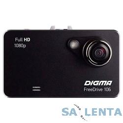 Видеорегистратор Digma FreeDrive 106 черный 1.3Mpix 1080×1920 1080p 120гр. GP1248