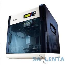 XYZ da Vinci 2.0A, ABS/PLA пластик 1.75мм, 2 экструдера, мин 100мк, размер рабочей зоны 200х200х200 мм, USB 2.0, Win XP, Win 7, Win 8, Mac OSX 10.8,