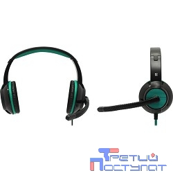 Defender Warhead G-200 зеленый + черный, кабель 2 м  [64119]