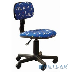 Бюрократ CH-201NX/DOGS-BL кресло (синий собачки Dogs-Bl)