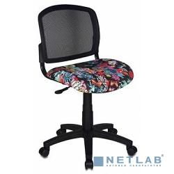 Бюрократ CH-296NX/TATTOO кресло (спинка сетка черный сиденье черный черепа Tattoo)