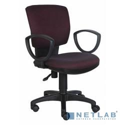 Бюрократ CH-626AXSN/V-02 кресло (бордовый ромбик черный V-02)