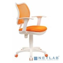 Бюрократ CH-W797/OR/TW-96-1 кресло (спинка сетка оранжевый сиденье оранжевый TW-96-1 (пластик белый)