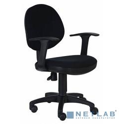 Бюрократ CH-356AXSN/B Кресло  черный пластик , черная ткань