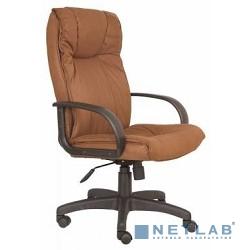 Бюрократ CH-838AXSN/F5 кресло руководителя (коричневый F5 искусственный нубук)
