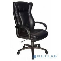 Бюрократ CH-879DG/Black кресло руководителя (черный искусственная кожа (пластик темно-серый))