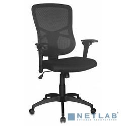 Бюрократ CH-888, кресло руководителя (на колесиках, ткань, черный)