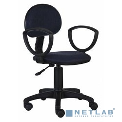 Бюрократ CH-213AXN/Bl&Blue (кресло черный/синий 12-191)
