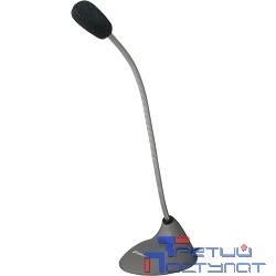 Defender MIC-111 Микрофон компьютерный, серый, кабель 1,5 м [64111]