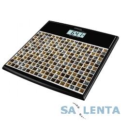 Весы напольные электронные Scarlett SC-BS33E066 макс.180кг черный/рисунок