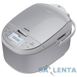 Мультиварка Philips HD3095/03, серебристый/серый, 4л., 860Вт