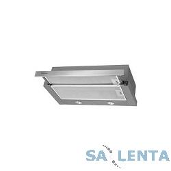 Вытяжка встраиваемая Hansa OTC612IH серебристый управление: кулисные переключатели (1 мотор)
