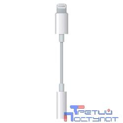 MMX62ZM/A Apple Lightning to 3.5 mm Headphone Jack Adapter