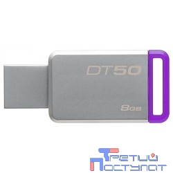 Kingston USB Drive 8Gb DT50/8GB {USB3.1}