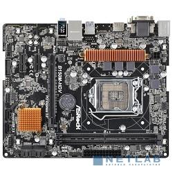 ASRock B150M-HDV { LGA1151, B150 2xDDR4-2133 PCI-Ex16 DVI/HDMI/DSub 8ch 6xSATA3 4xUSB3 GLAN mATX}