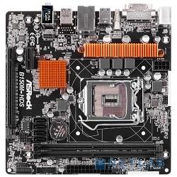 ASRock B150M-HDS RTL {LGA1151,B150 2xDDR4-2133 PCI-Ex16 DVI/HDMI 8ch 4xSATA3 2xUSB3 GLAN mATX}