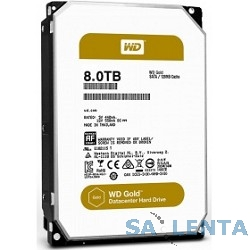 8TB WD Gold  (WD8002FRYZ) {SATA III 6 Gb/s, 7200 rpm, 128Mb buffer}