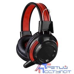 Oklick HS-G300 черный/красный {2.5м мониторы оголовье (AH-V1)} [337457]