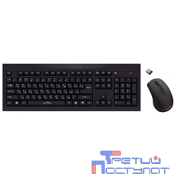 Oklick 210M Wireless Keyboard&Optical Mouse Black USB [612841]