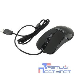 Oklick 865G черный/черный оптическая (2400dpi) USB игровая (5but) [368643]