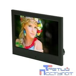 RITMIX RDF-710 Black { диагональ экрана 7'', разрешение 800x480, питание от сети, поддержка USB-накопителей, цвет: черный}