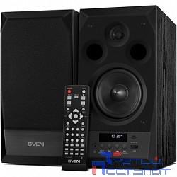 SVEN АС MC-10, чёрный (50 Вт, FM-тюнер, USB/microSD, дисплей, ПДУ, Bluetooth)