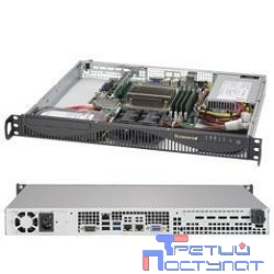 Supermicro SYS-5019S-ML, 1U no CPU(1) E3-1200v5/6thGenCorei3/ no memory(4)/ on board RAID 0/1/5/10/ no FixedHDD(2)LFF/ 2xGE/ 1xPCIEx8, 1xM.2 connector/ 1noRx350W (SYS-5019S-ML, X11SSH-F, 512F-350B1)