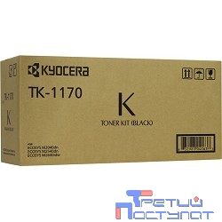 Kyocera-Mita TK-1170 Тонер-картридж, Black {M2040dn, M2540dn, M2640idw (7200стр.)}